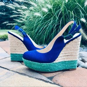 Blue Wedges INC